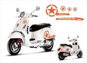 برچسب موتور سیکلت