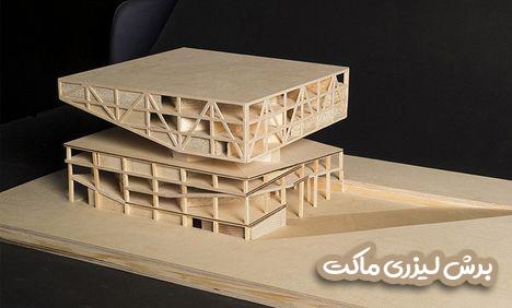 برش-لیزری-ماکت-معماری